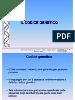 5 Il Codice Genetico genetica agraria uniss