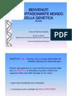 Introduzione Al Corso 2006 07 genetica agraria uniss