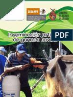 MC Inseminación artificial de ganado bovino