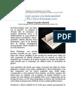 Plagios textuales y premio a la deshonestidad. El caso Bryce Echenique 2012