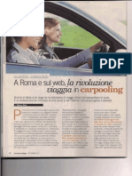2012.09_La Nuova Ecologia_carpooling in Italia_1