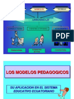 Modelo Pedagogic o