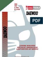 Daewoo Manual Es