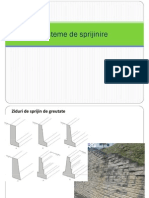 Geotehnica - Sprijiniri