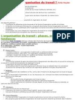 Cours Administration Et Organisation Du Travail
