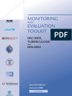 Monev Toolkit for HIVAIDS, Malaria and TBC_WHO
