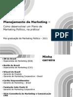 Planejamento de Marketing Político - scribd