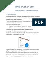 TEMA 11 LA MATERIA AMPLIACIÓN Y  EJERCICIOS (Parte I)