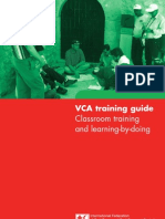 Vca Training Guide en 2008