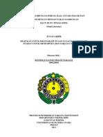 Analisis Sambungan Portal