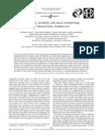 Wounding, Mortality and Mane Morphology - West Et Al
