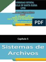 SISTEMAS OPERATIVOS - CICLO 2 - Capítulo 5