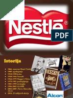Nestle Prezentacija - menadžment