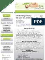 Twoje Emocjonalne Ja Jak Podniesc Swoje EQ Emocja