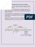 Manual de Funciones Para El Sector de Alojamiento