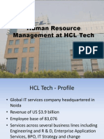 HRM at  HCL