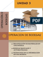 Operaciones de Bodegas