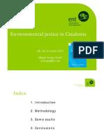 Equitat Ambiental a Catalunya