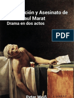 Persecución y asesinato de J.-P Marat (Electrónico)