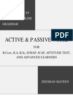 The Easiest Way to Learn Active & Passive Voice for Everyone