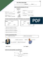 Sınav Öncesi Çalışma Kağıdı-2