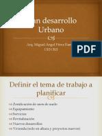 Plan Desarrollo Urbano Primera Parte