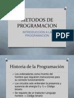 Tema 1 - Introducción a la Programacion