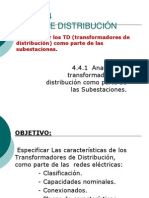 4.4 Redes de Distribución Disposiciones de Montaje Transform
