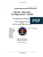 [eBook] - Computers - Networking - Security - Gov - SNACs Router Security Guide