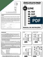 Manual Linha Hl