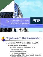 AGCO Presentation
