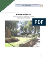 A_MEMORIA Y SINTESÍS HISTÓRICA DEL JARDÍN AZTECA