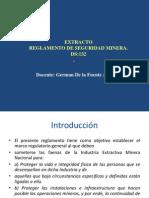 Extracto Reglamento Minero