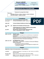 CV Ladhar Ahmed Francais