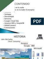 Bases de Datos en La Nube