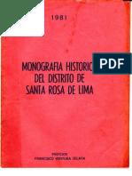 Monografia de Santa Rosa de Lima PDF