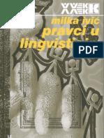 Milka Ivić - Pravci u Lingvistici II