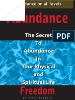 The Secret to Abundance by Petra Margolis