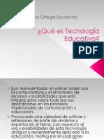 Qué es Tecnología Educativa
