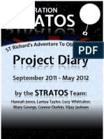 Project STRATOS (Near Space Balloon Photography) Diary