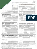 Petunjuk Pengisian Formulir Data PTK Dikmen