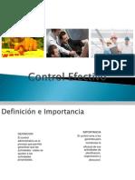 Control Efectivo Clase