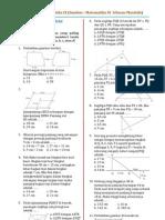 Bank Soal Matematika Ix Ichwan