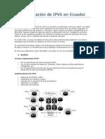 Implementación de IPV6 en Telconet - Pablo Pin