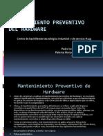 Mantenimiento preventivo del hardware