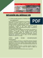 REFLEXIÓN DEL MÓDULO VIII francisco