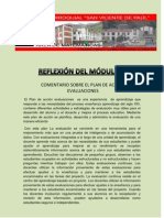 REFLEXION DEL MÓDULO X