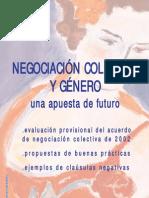 Negociacion Colectiva Por Genero 2002