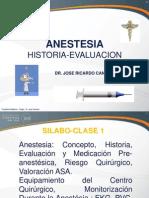 Ucsur - Cirugia 2012 -Ia- 08 -Anestesia- Dr. Canchari