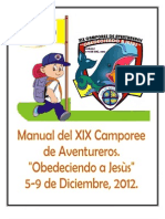 Manual Oficial de Xix Camporee de Aventureros 2012